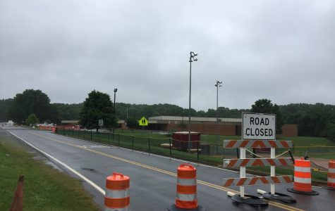 New Sinkhole at Brookville Middle