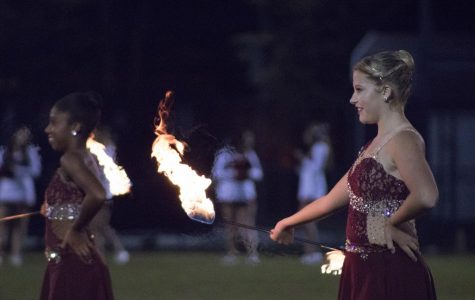 BHS Twirling Duo