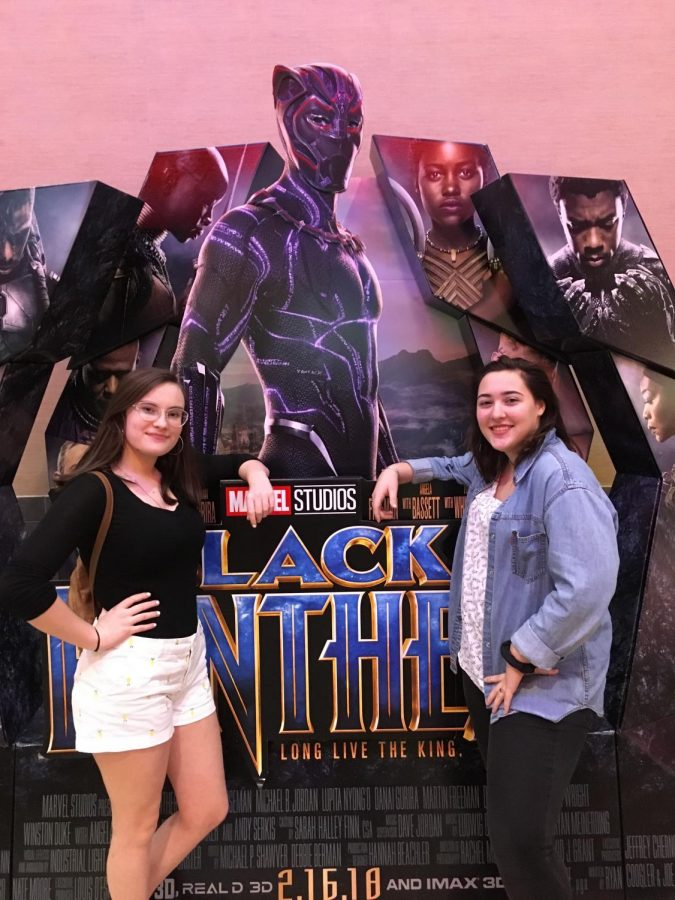 Brookville sophomores enjoy a showing of Black Panther at Regal 14 Cinemas.