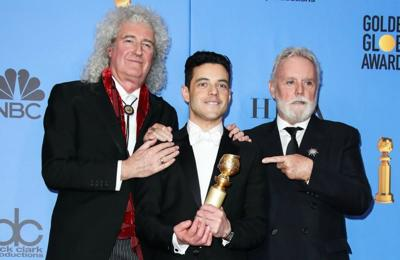"""Bohemian Rhapsody"" Defeats ""A Star is Born"" at the Golden Globes"
