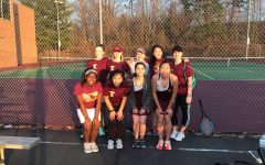Girls' Tennis Kicks Off Their Spring Season