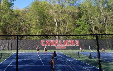 Beating JF: Girls' Tennis Smashing Win